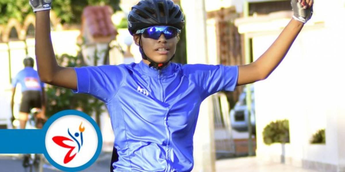 Ruth Eliza gana su segundo oro en ciclismo por Zona Este