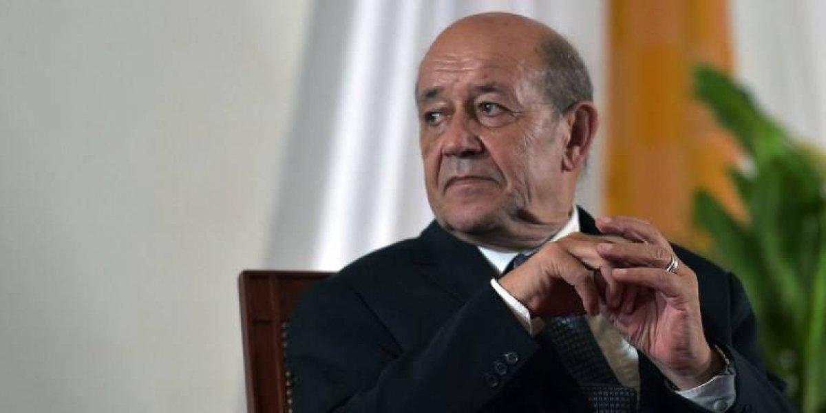 Ministro pide a Trump no interferir en política interna de Francia