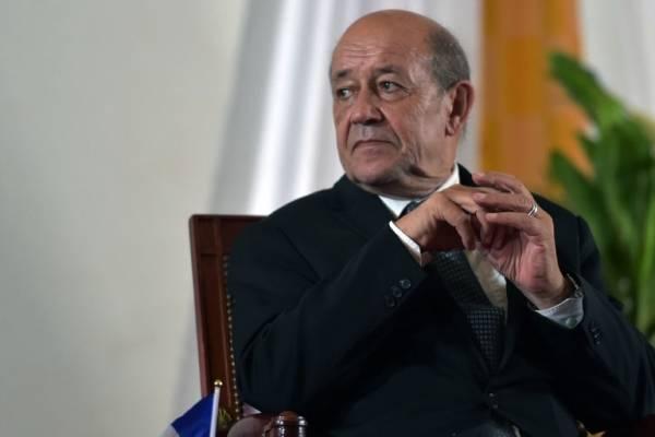 Jean-Yves Le Drian, ministro francés de Relaciones Exteriores