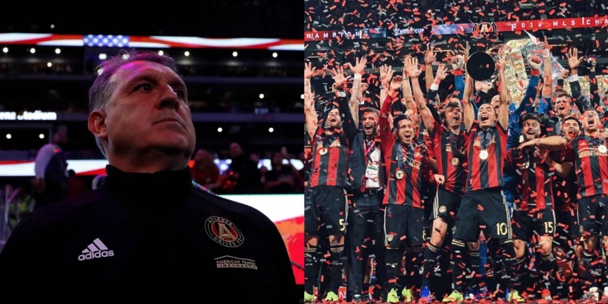 Tata Martino se proclama campeón en la MLS con el Atlanta United