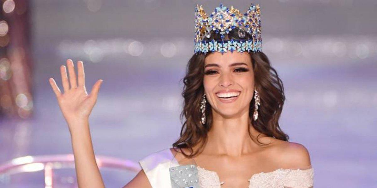 "Mexicana Vanessa Ponce de León coronada como ""Miss Mundo 2018"""