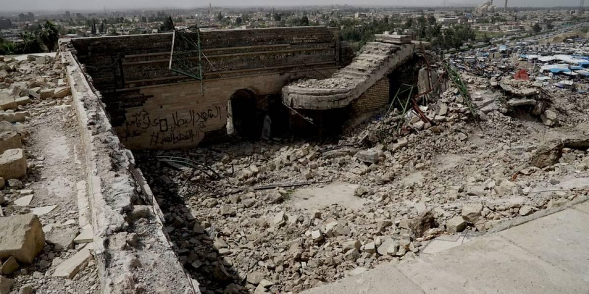 O palácio de quase 3 mil anos descoberto sob as ruínas de mesquita arrasada pelo Estado Islâmico