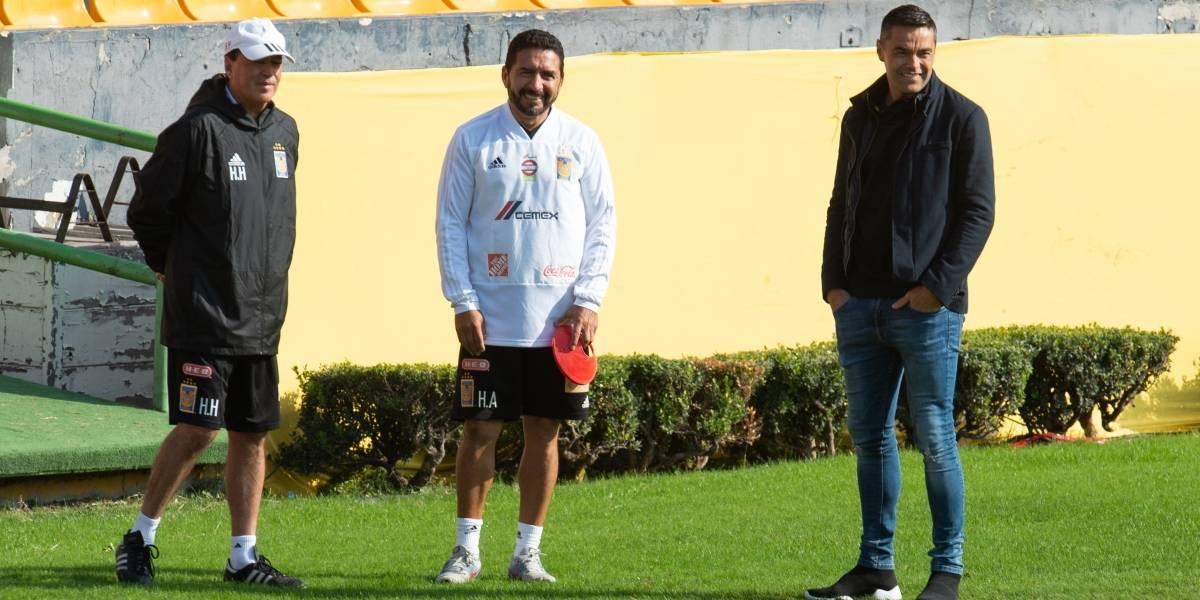 Se va Juninho en paz del futbol, quiere seguir ligado a Tigres