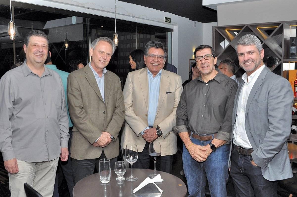 Carlos Magalhães, Walter Cavalcante, Paulo Baraona, Sandro Carlesso Cloves Louzada
