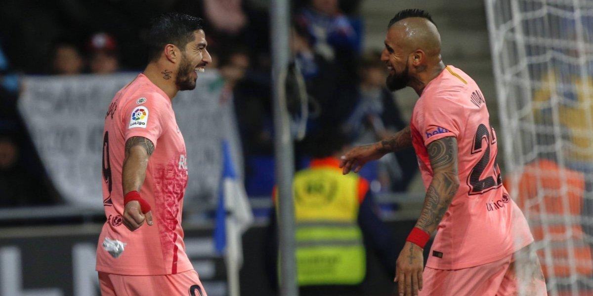 "Valverde no se cansa de elogiar a Vidal: ""Estamos encantados con lo que nos está dando"""