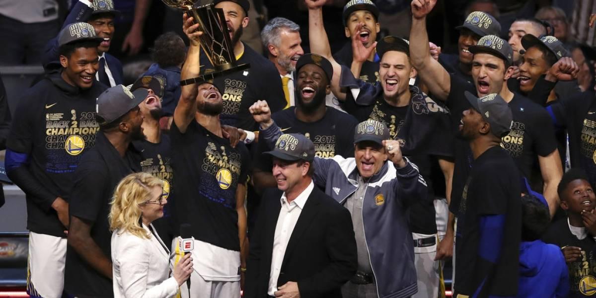 Golden State Warriors son nombrados 'Deportistas del Año' por la revista Sports Illustrated