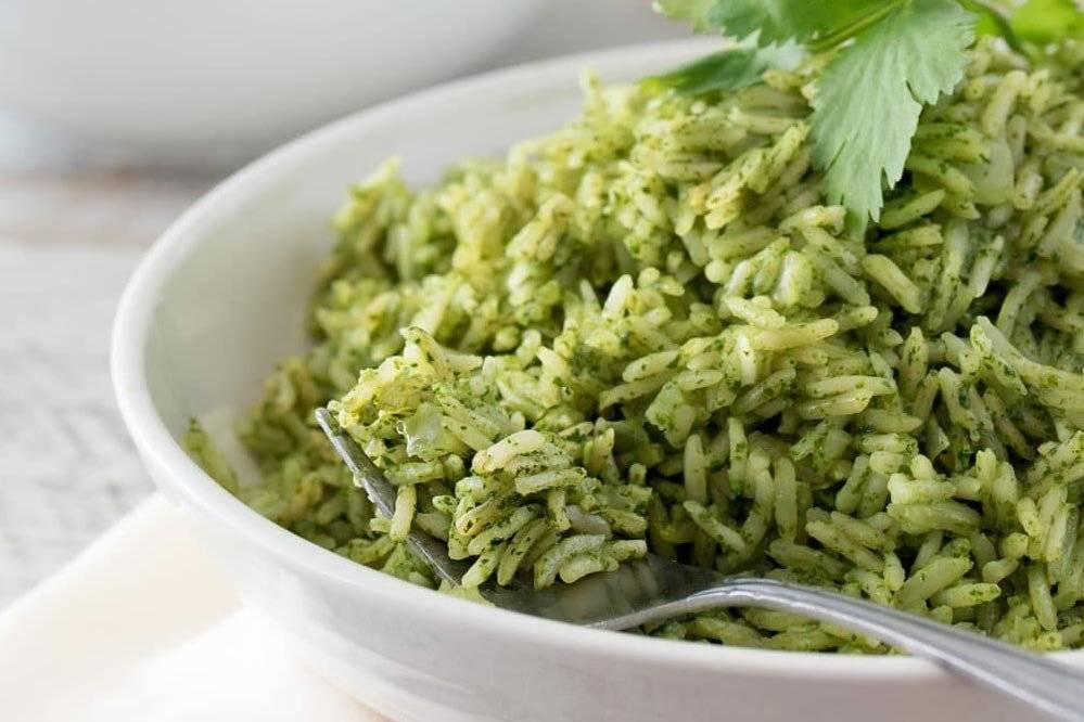 arroz verdes