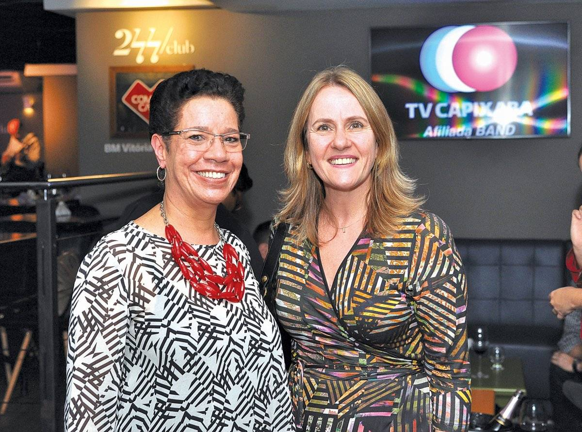 Beatriz Venturini e Maria Inês Altoé Cloves Louzada