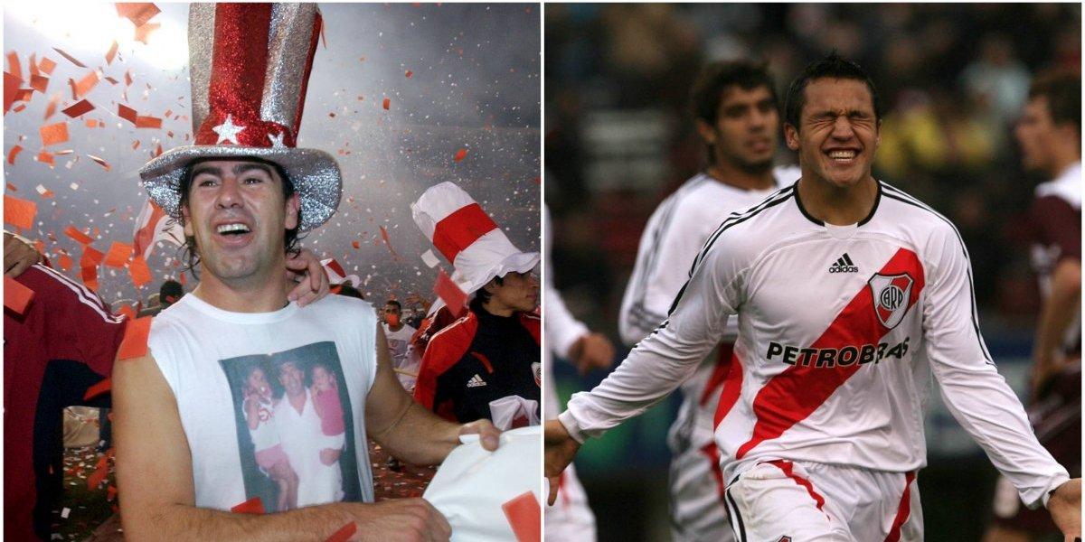 """Locura """"millonaria"""": El festejo de Marcelo Salas y Alexis tras el título continental de River Plate"""