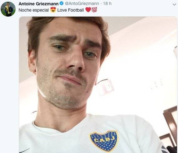 Twitter Antoine Griezmann