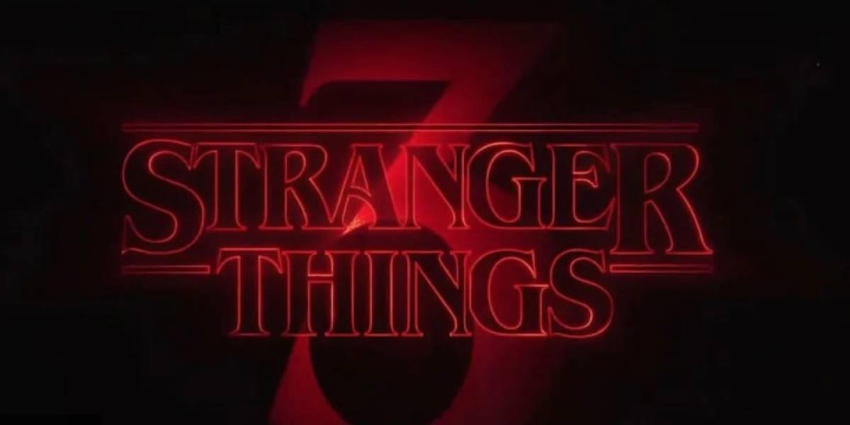 ¡Crece la intriga! Netflix revela títulos de los episodios de la tercera temporada de Stranger Things