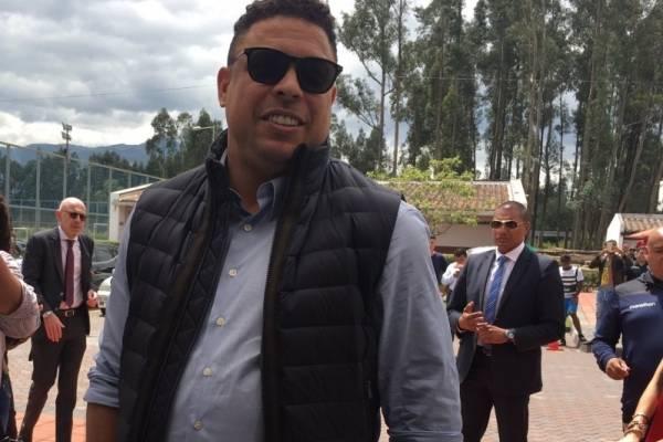 Ecuador: Ronaldo Nazário está en Ecuador para cerrar el fichaje de Stiven Plaza al Valladolid de España