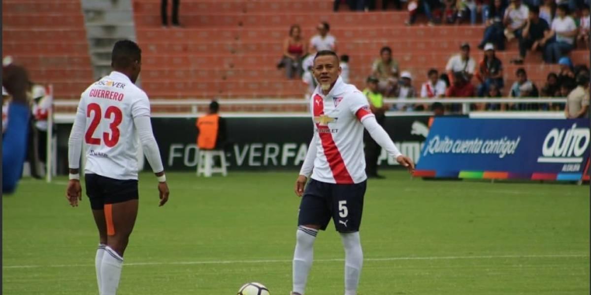 Jefferson Intriago se queda en Liga de Quito por dos años