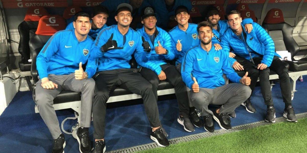 Vuelve sin la Copa: Carlos Lampe se va de Boca sin sumar minutos y retorna a Huachipato