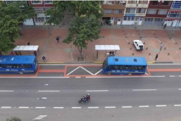 Este lunes entra en funcionamiento el carril preferencial de la Avenida Boyacá