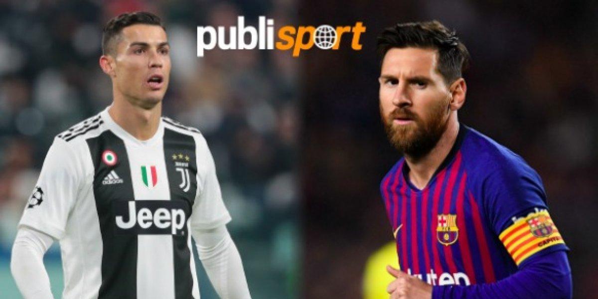 Cristiano Ronaldo reta a Messi a jugar en la Serie A y que deje de su zona de confort