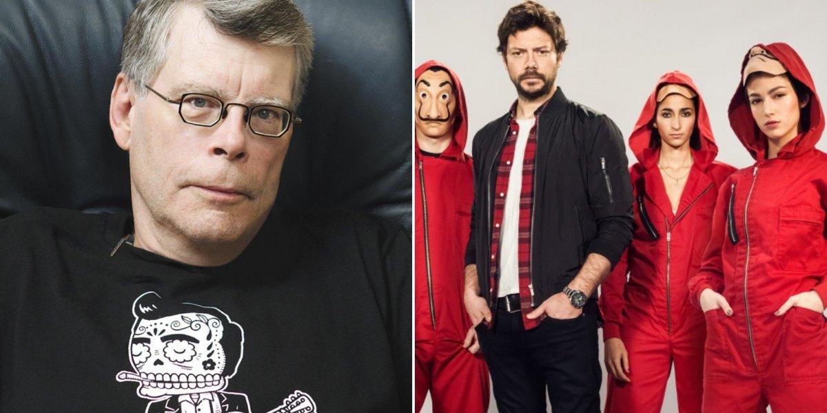 La Casa de Papel: Stephen King revela quais são seus personagens favoritos da série