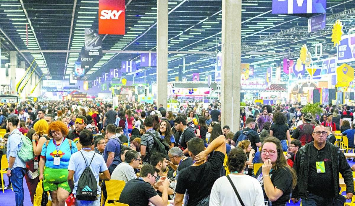 Ticket médio de compras do público do evento foi de R$ 300 Anderson Lira/Brazil Photo Press/Folhapress