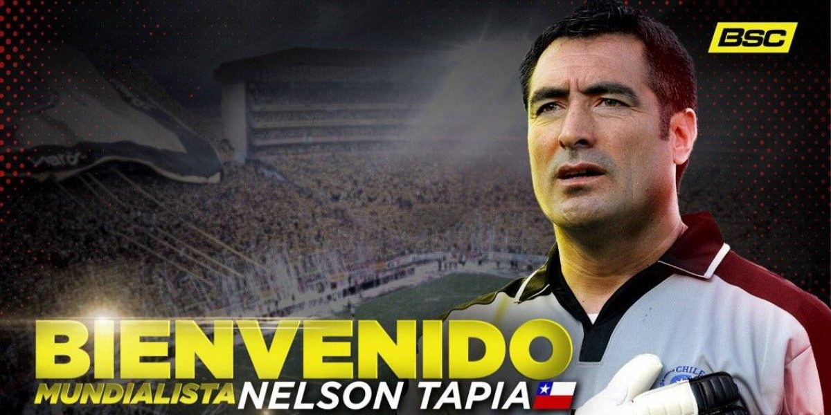 Barcelona de Guayaquil anunció a Nelson Tapia como nuevo preparador de arqueros
