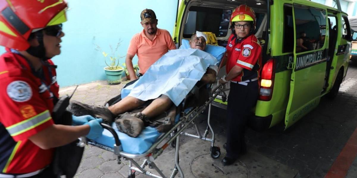 Explosión en ruta al Atlántico deja dos personas con quemaduras de segundo y tercer grado