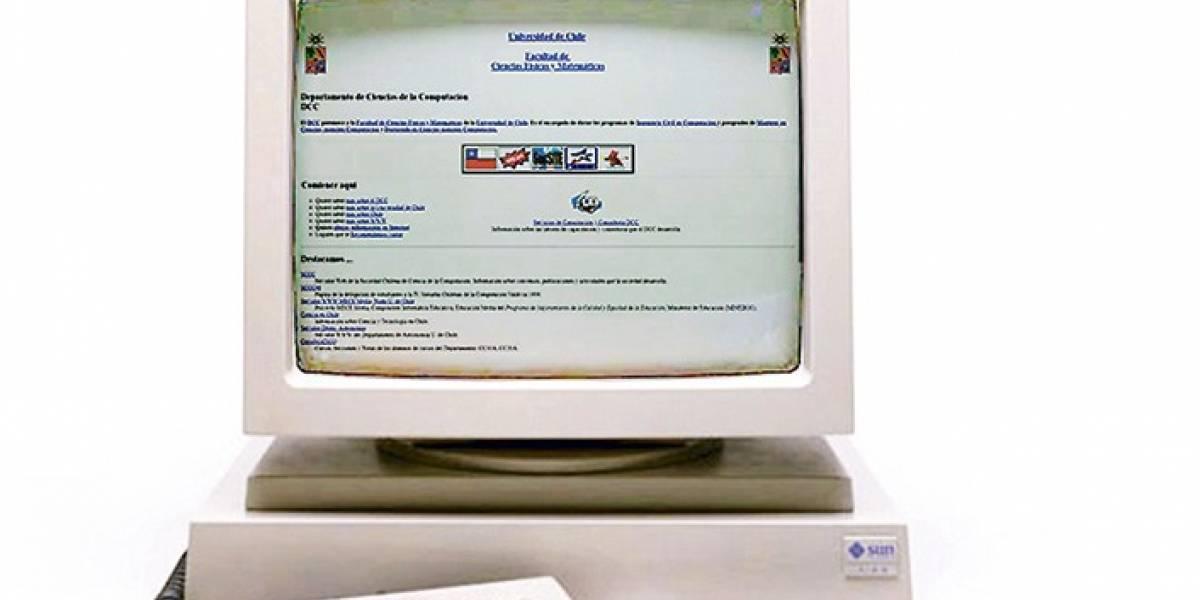 El primer sitio web chileno ya tiene 25 años de existencia
