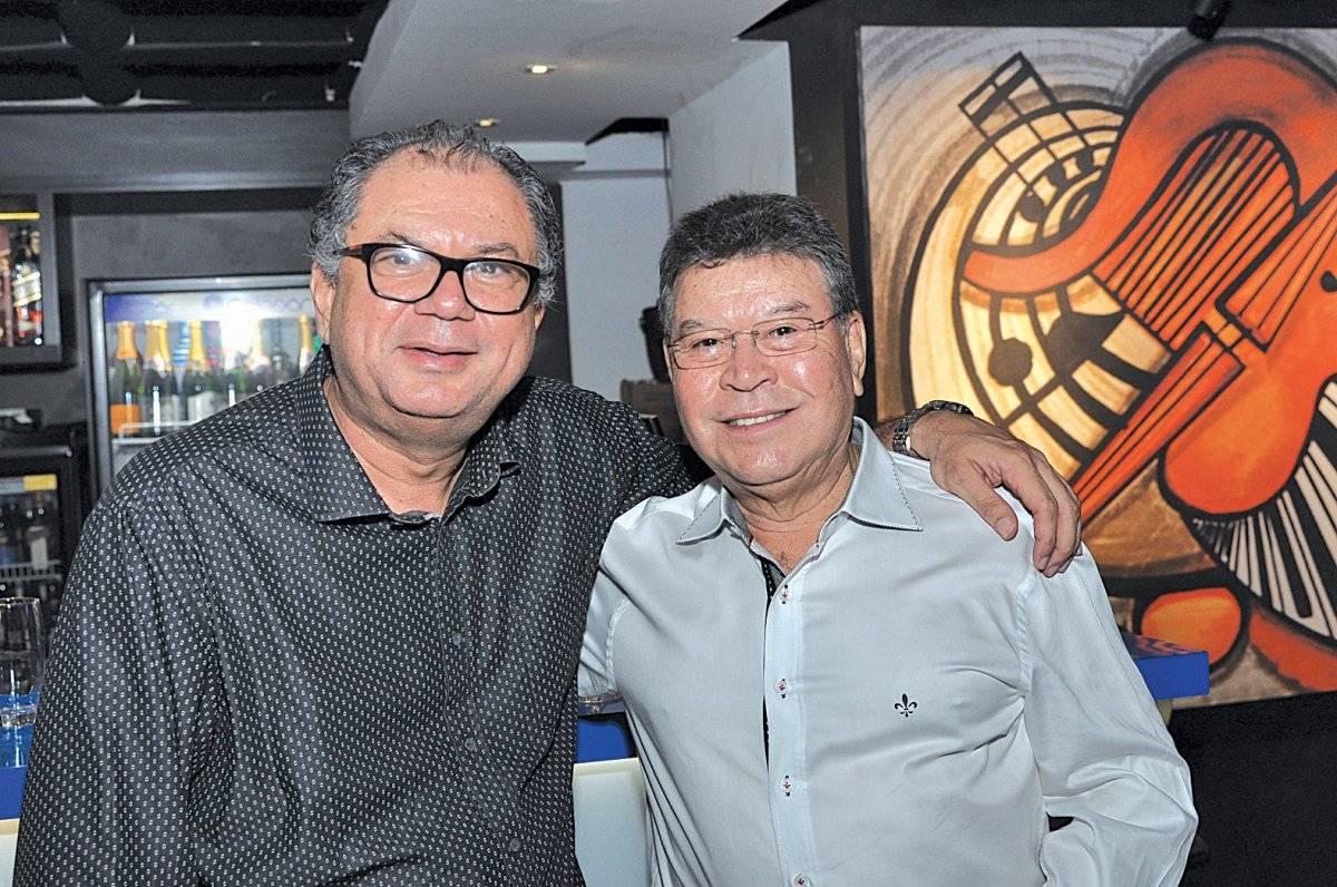 Helcias Castro e Celso Siqueira Cloves Louzada