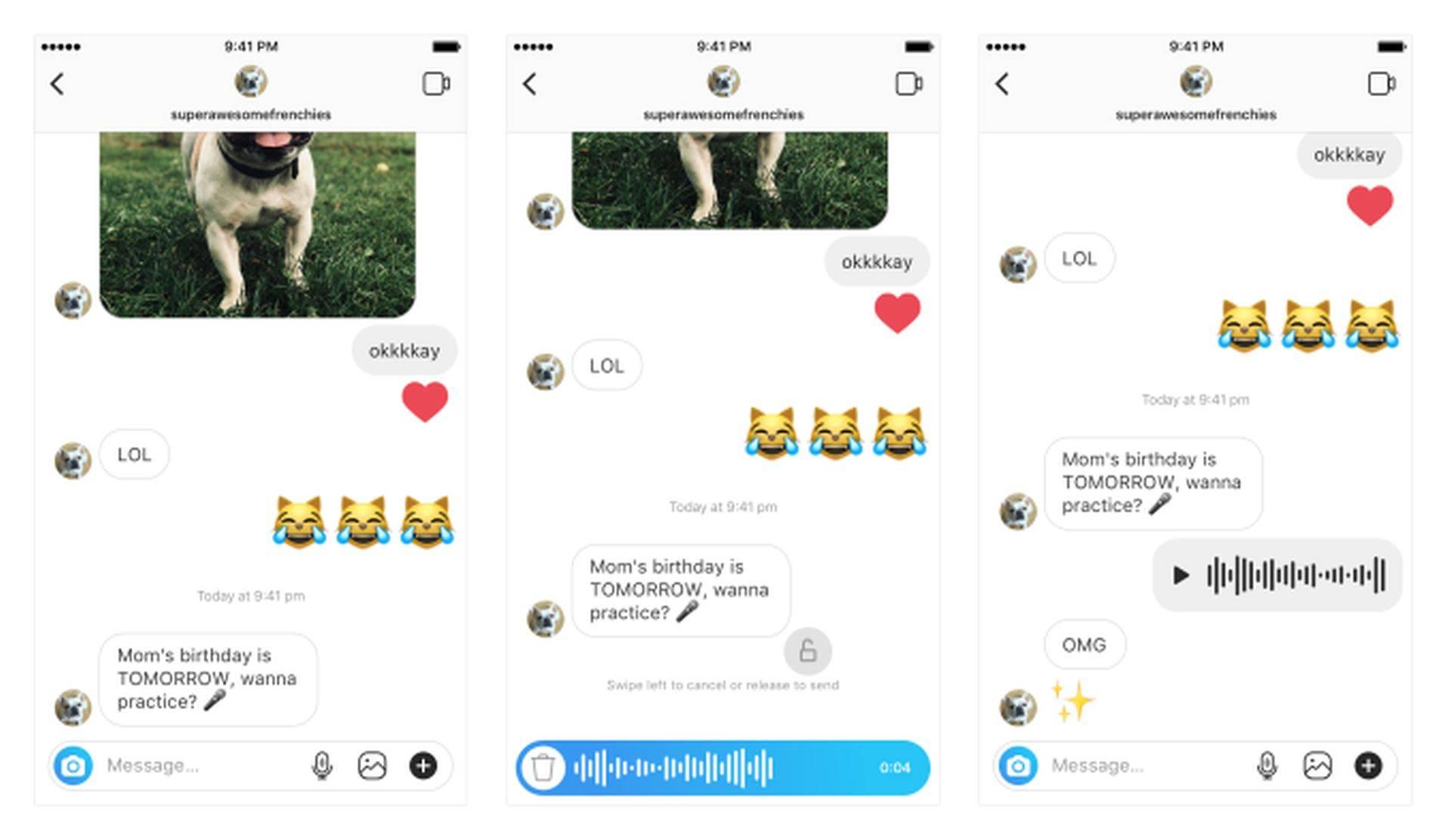 Instagram estrena las notas de voz (y otras funciones)