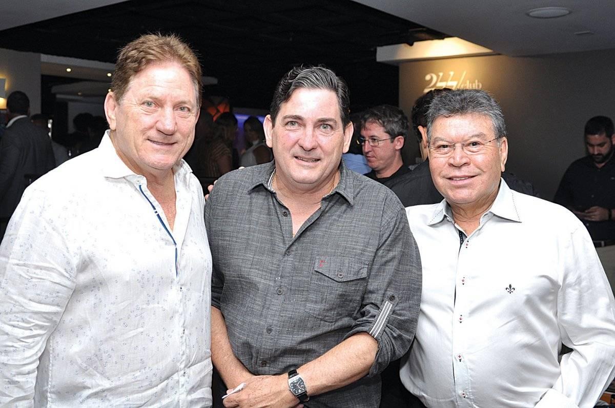 José Élcio Lorenzon, Dimas Lorenzon e Celso Siqueira Cloves Louzada