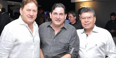 José Élcio Lorenzon, Dimas Lorenzon e Celso Siqueira