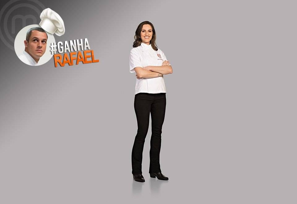 Manoela Lebron quer ver Rafael campeão