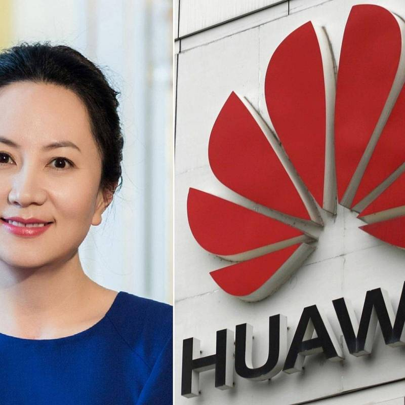 Finanzas: La CFO de Huawei parece tener una fascinación por Apple