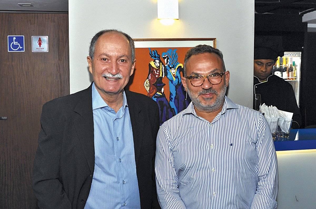 Nailton Pinheiro e Alexandre Schubert Cloves Louzada