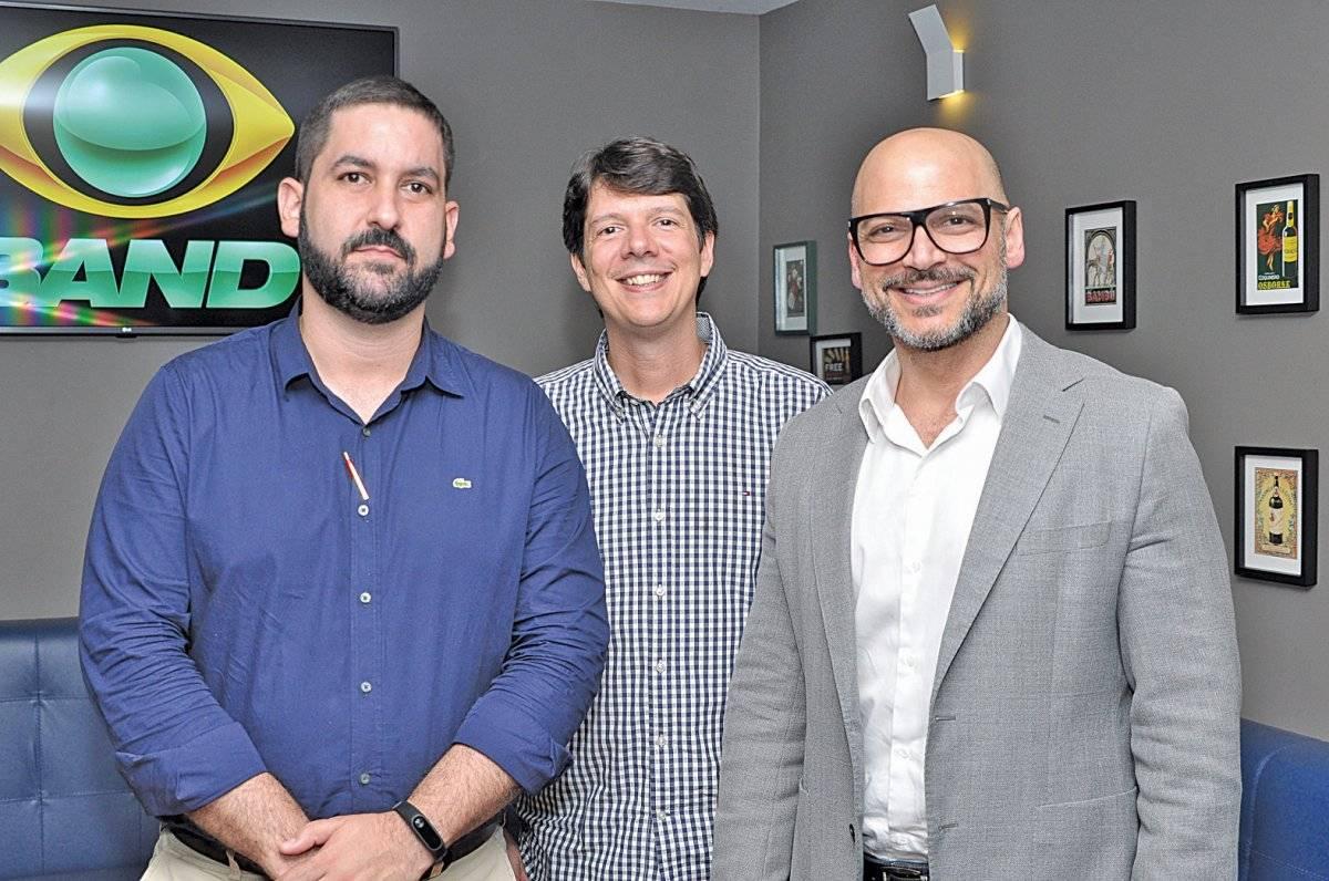 Rafael Barros, Gustavo Figueiredo e Marcos Murad Cloves Louzada