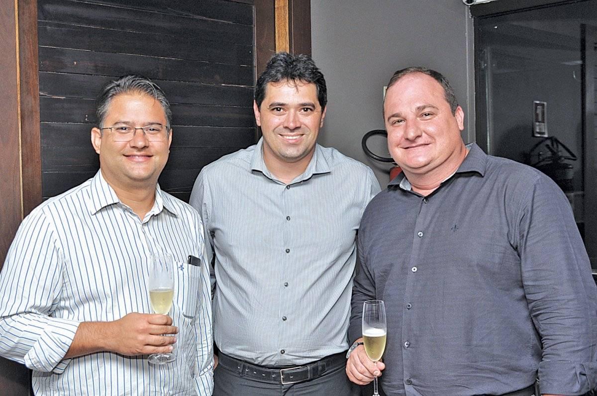 Ricardo Paiva, Filipe Padilha e Daveling Matricardi Cloves Louzada