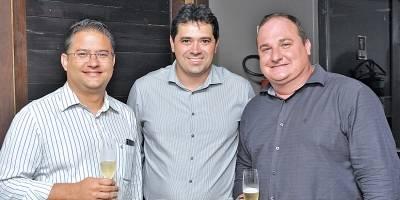 Ricardo Paiva, Filipe Padilha e Daveling Matricardi