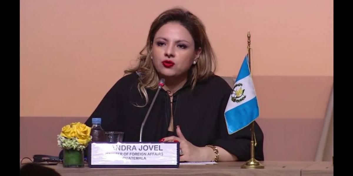 Canciller Jovel expone en Marruecos el plan para atender la migración que elabora el Tricamex