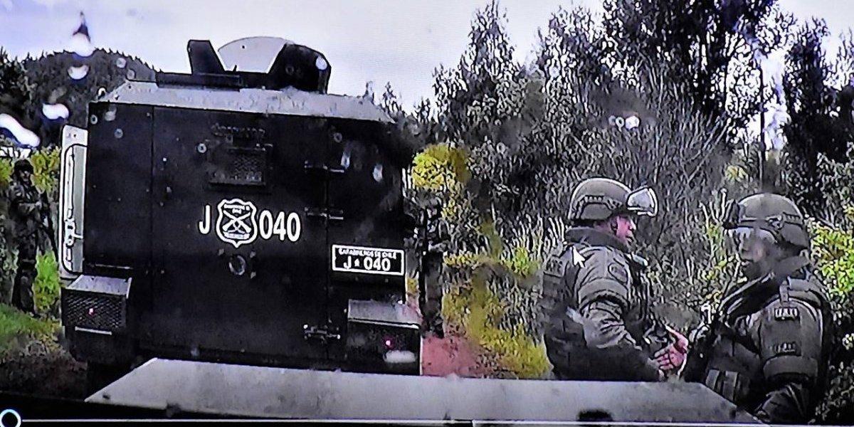 Caso Catrillanca: ex carabineros imputados buscan su libertad con apelación en Corte de Temuco