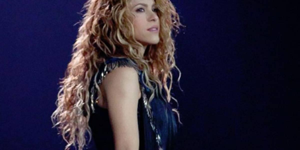 Publican foto comprometedora de Shakira  ¡Estuvo años oculta!