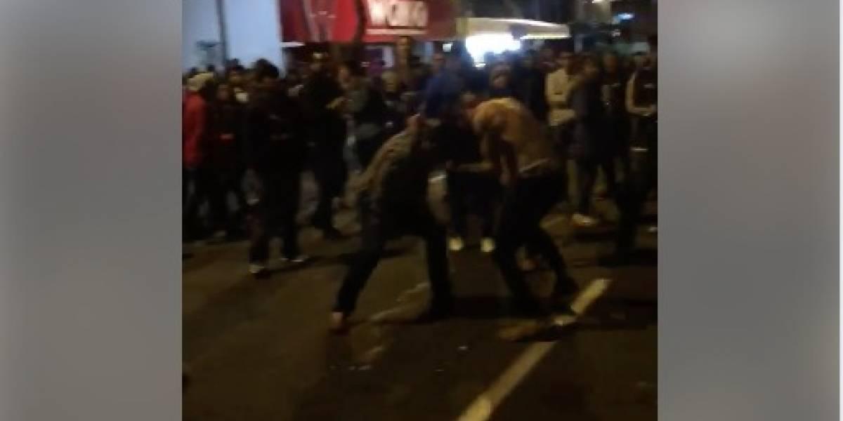 VIDEOS: Cámaras captaron incidentes y peleas durante Fiestas de Quito 2018
