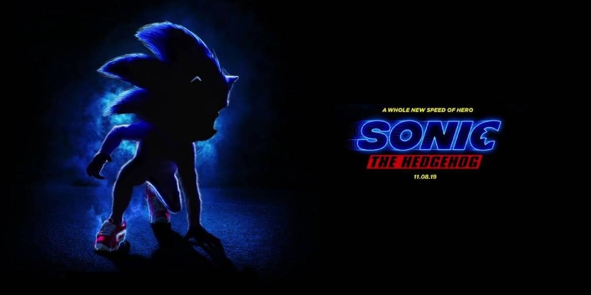 Sonic The Hedgehog ya tiene póster oficial para su película y no te va a gustar