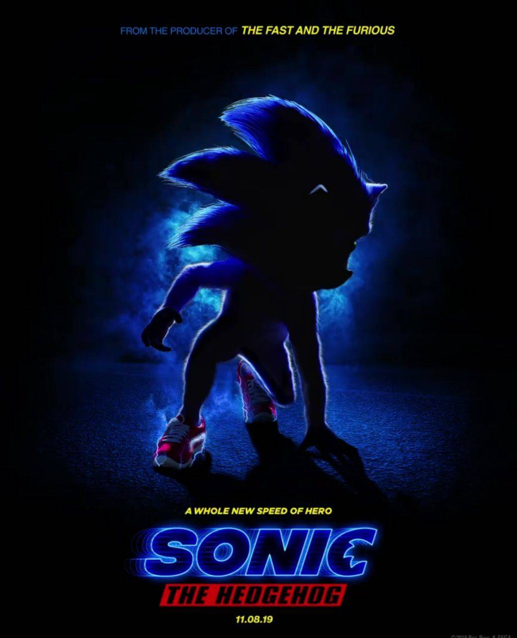 Resultado de imagen para sonic the hedgehog poster