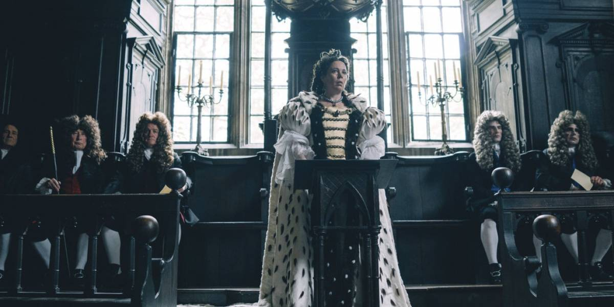 The Favourite- Olivia Colman