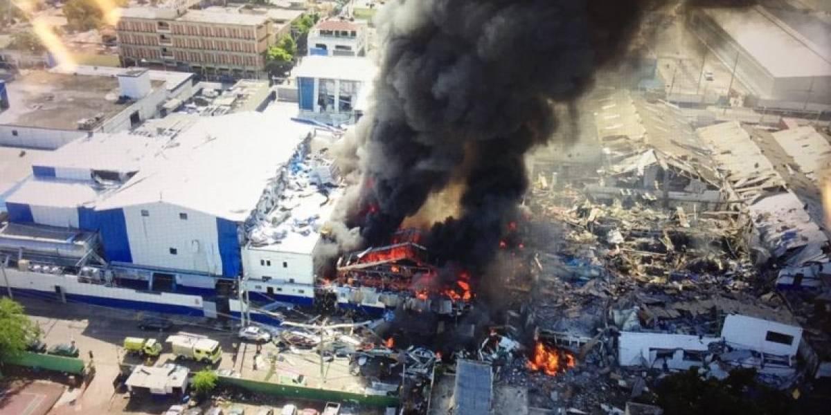 Explosión: Dos personas siguen en estado crítico