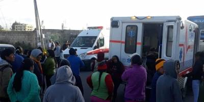 Quito: Se reportó un accidente de tránsito en el sector San Juan de Calderón