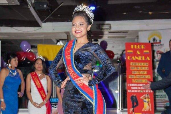 Carla Flores es la nueva Reina de Quito en España