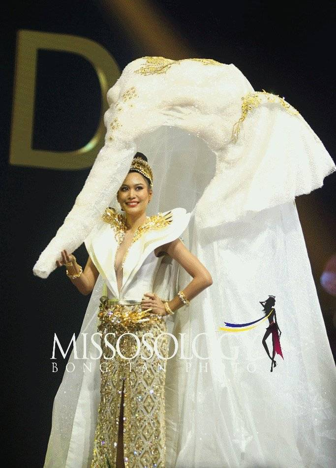 Missnews Miss Universo Traje Típico De Virginia Limongi Está
