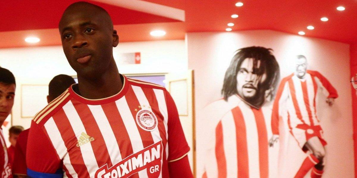 Duró menos que Lucas Barrios: Yaya Touré dejó Olympiakos tras solo 3 meses