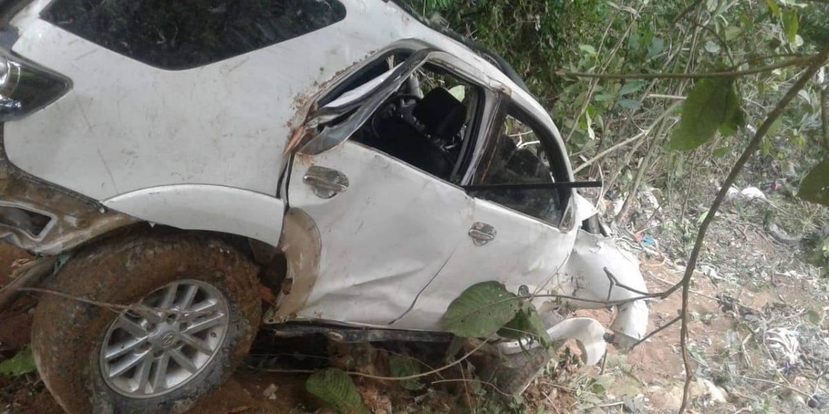 Hijo de Luis Alberto Posada sufrió accidente de tránsito