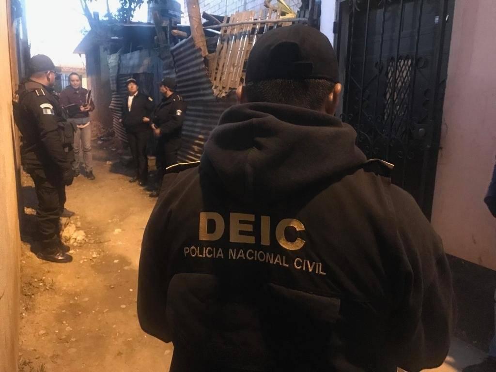 allanamientos contra robafurgones en departamento de Guatemala