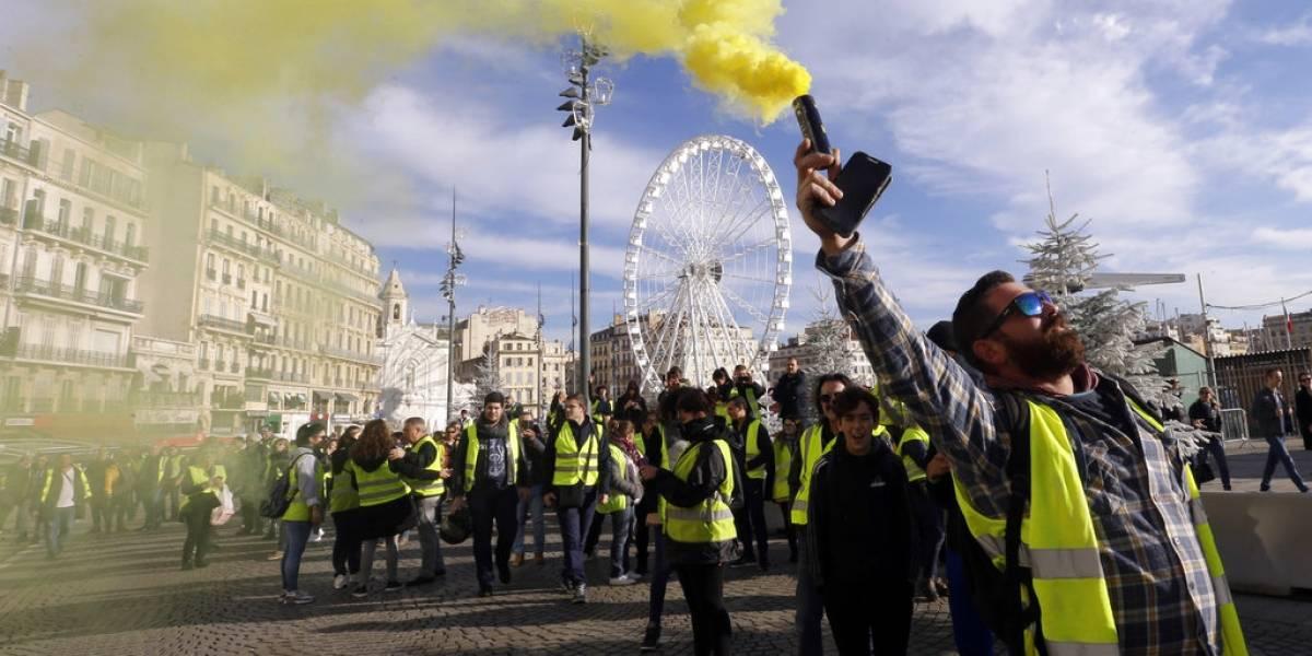 Egipto prohíbe la venta de chalecos amarillos por temor a un contagio de las protestas en Francia